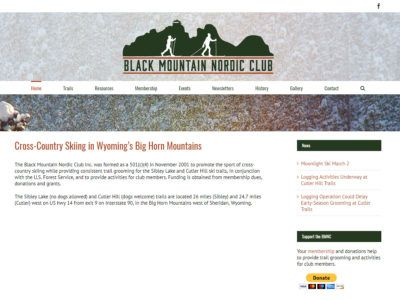 Black Mountain Nordic Club Website