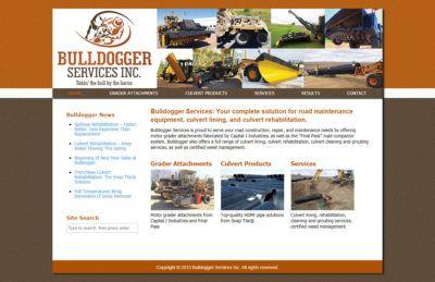 Bulldogger Services Website