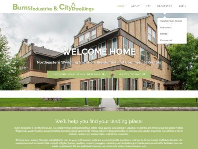 City Dwellings Website
