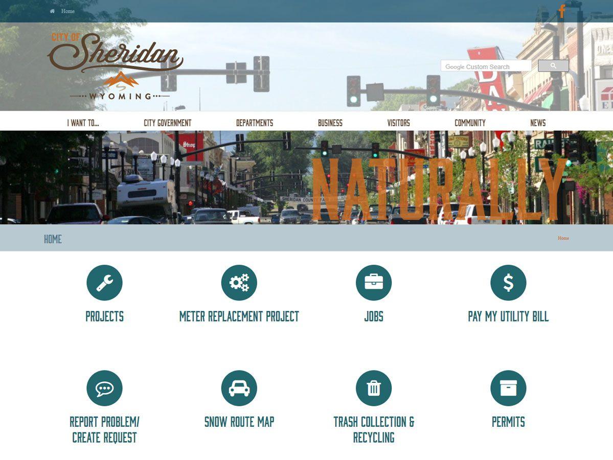 City of Sheridan Website