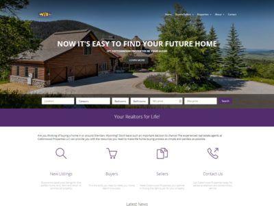 Cottonwood Properties Website