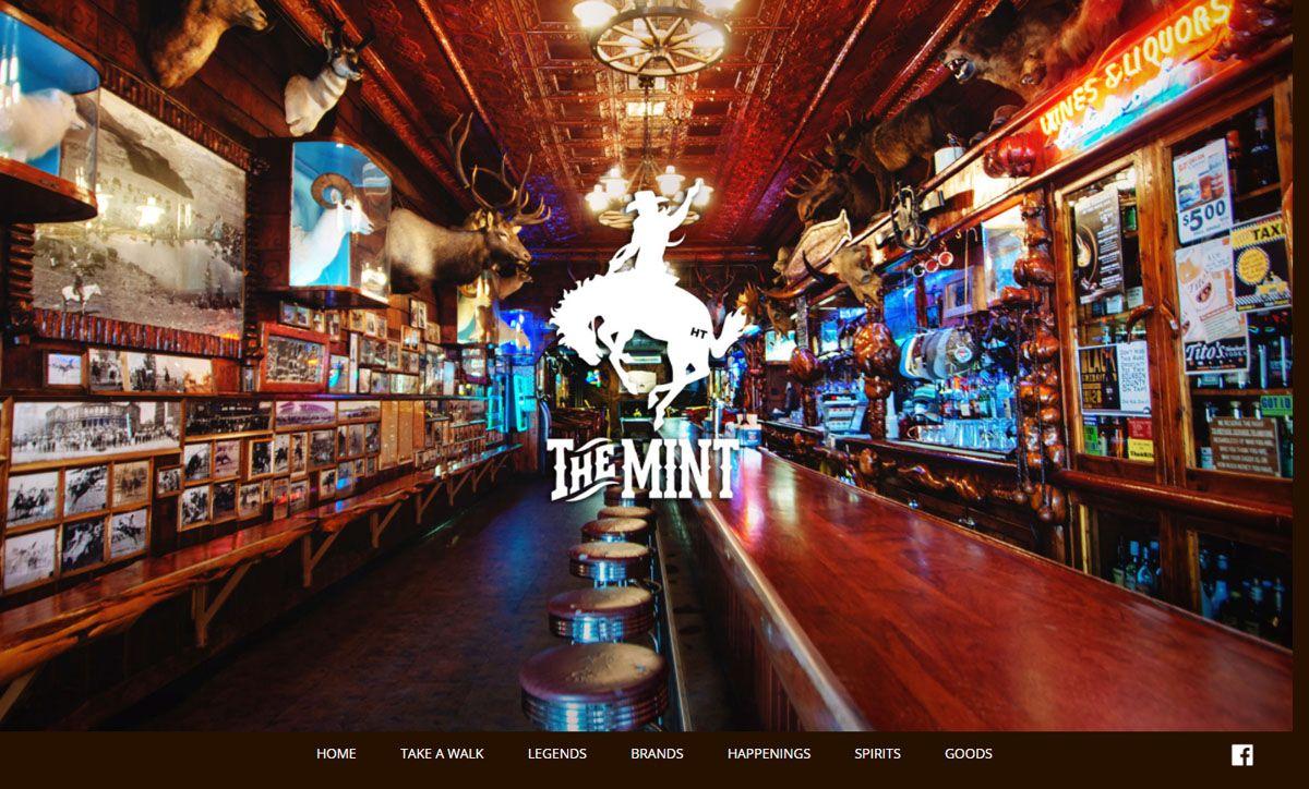 Mint Bar Website