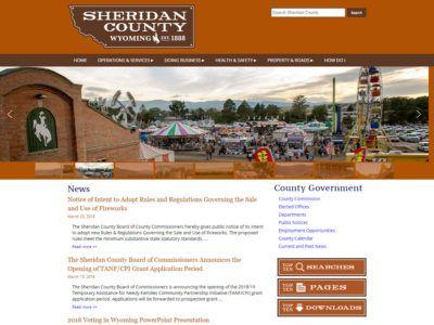 Sheridan County Website