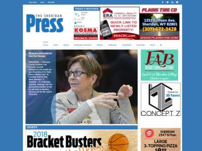 Sheridan Press Website