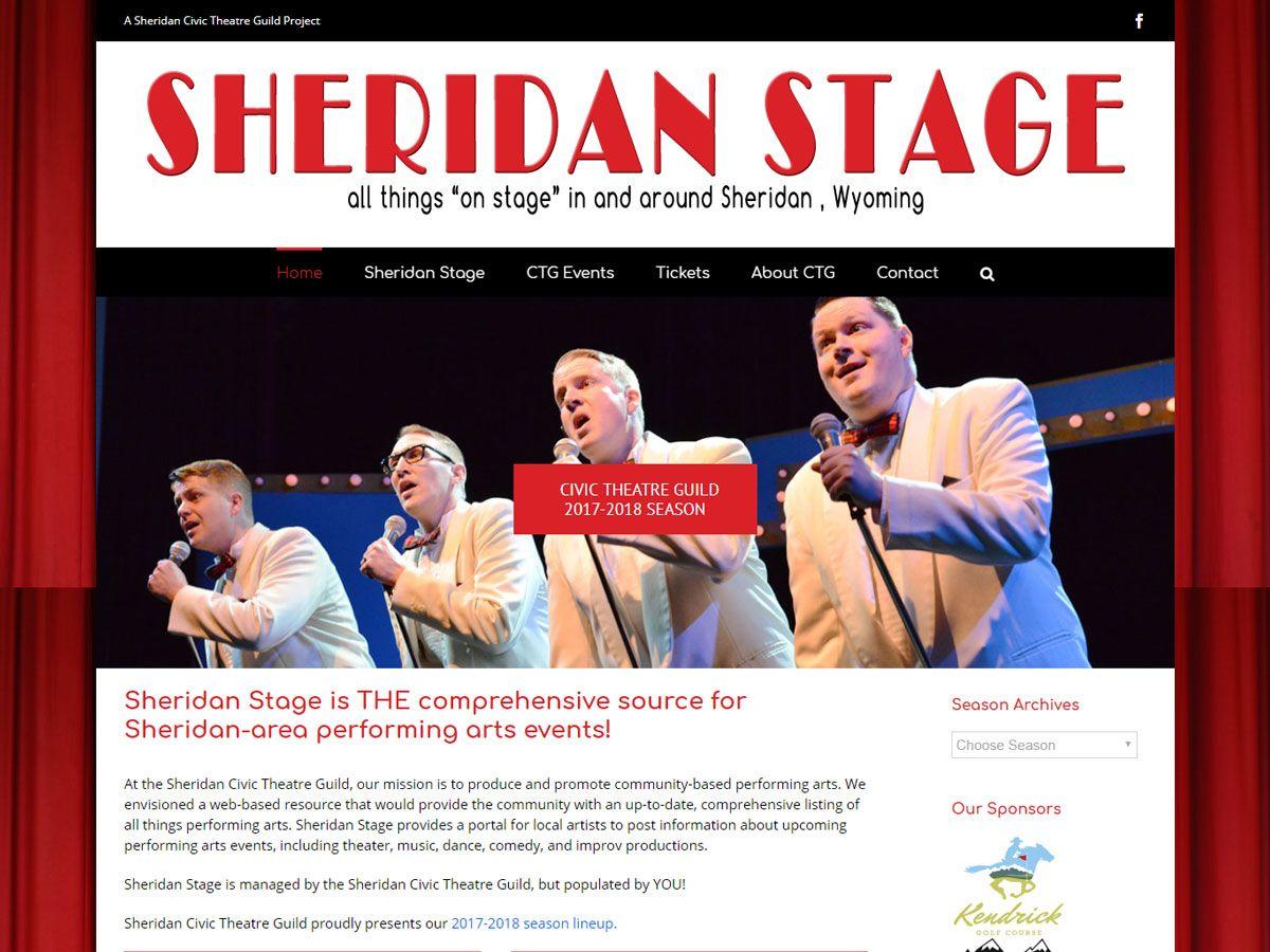 Sheridan Stage Website
