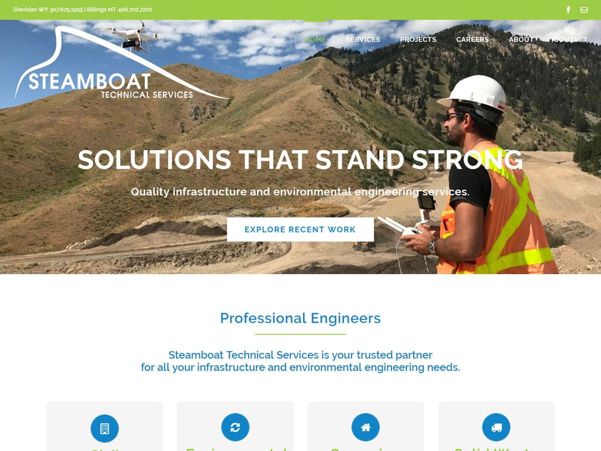 Steamboat Technical Services Website