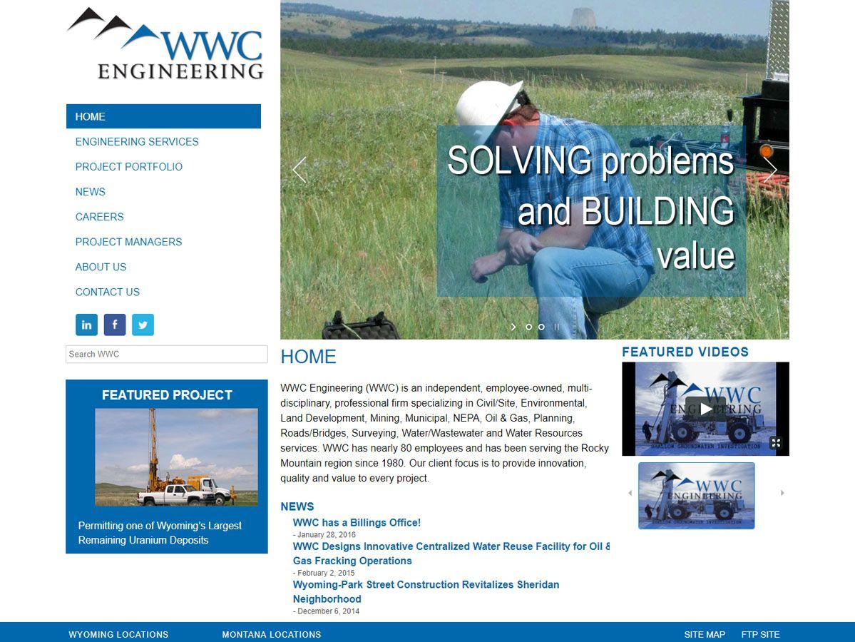 WWC Engineering Website