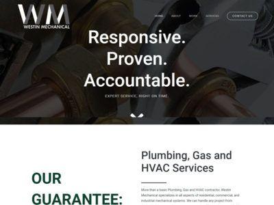 Westin Mechanical Website