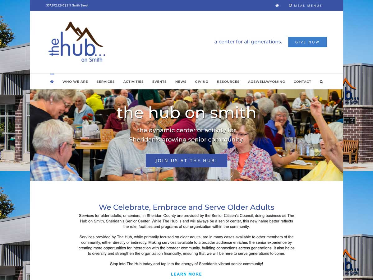 Hub on Smith website created by Confluence Collaborative